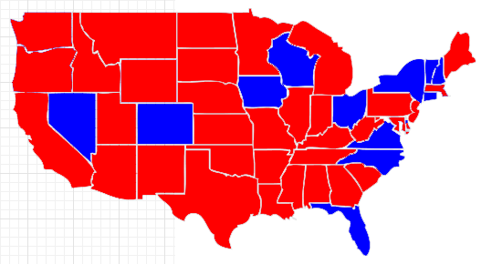 cnn electoral college projection 2012